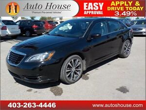 2012 Chrysler 200 S LEATHER ROOF NAVIGATION 90 DAYS NO PAYMENTS