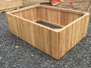 Cedar Planters, Seat Benches, and Raised Garden Boxes