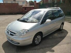 CITROEN C8 EXCLUSIVE HDI 16V 7SEATS (silver) 2005