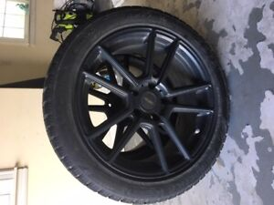 245/45R18 WHEELS AND TIRES