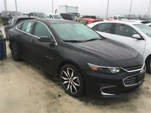 2017 Chevrolet MALIBU LTZ black on black leather, sunroof, NAVIG