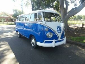 1963 Volkswagen Kombi SPLIT WINDOW 15 WINDOW Blue Manual MICROBUS Concord Canada Bay Area Preview