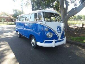 1963 Volkswagen Kombi 15 window Microbus Split window Blue Manual Kombi Concord Canada Bay Area Preview