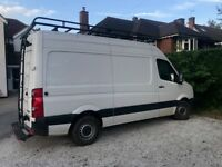 VW Crafter mwb fvwsh vgc many extras, air con, sat nav rear camera rhino roofrack/step etc