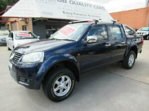 2012 Great Wall V200 K2 (4x4) Turbo Diesel !! 6 Speed Manual Dual Cab Utility Granville Parramatta Area Preview