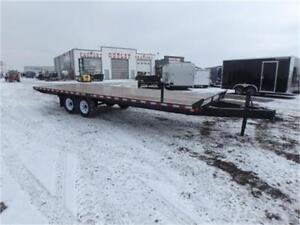 24' DECKOVER EQUIPMENT TRAILER - 14,000 LB. GVWR *TAX IN*