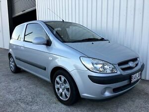 2008 Hyundai Getz TB MY07 SX Silver 4 Speed Automatic Hatchback Parkwood Gold Coast City Preview