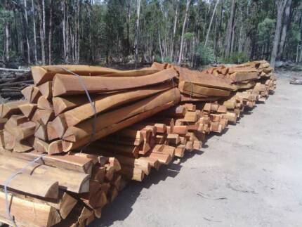 Hardwood Split Posts