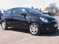 VAUXHALL CORSA 1.2 SXI 3 DR BLACK 1 YRS MOT,CLICK ON VIDEO LINK TO SEE AND HEAR MORE DETAILS OF CAR