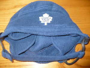 Toronto Maple Leafs Winter Hat Helmet Design London Ontario image 1