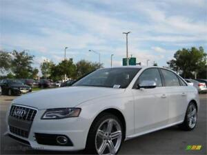 2011 AUDI S4 PREMIUM*NO ACCIDENT*PADDLE*WHT ON BLK WARRANTY