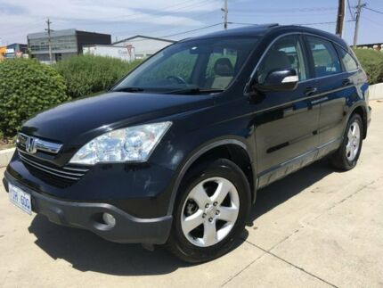 2009 Honda CR-V RE MY2007 Sport 4WD Black 5 Speed Automatic Wagon Fyshwick South Canberra Preview