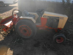 CASH 446 ACREAGE TRACTOR WITH SNOWBLOWER