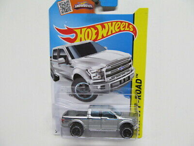 Hot Wheels -  Silver 2015  Ford F-150