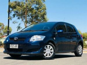 2008 Toyota Corolla ZRE152R Ascent Blue Automatic Hatchback Mawson Lakes Salisbury Area Preview
