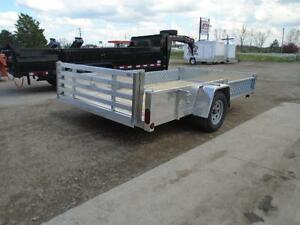 SIDE LOADING ATV/ALL PURPOSE ALUMINUM TRAILER 12' LONG ATP SIDES London Ontario image 2