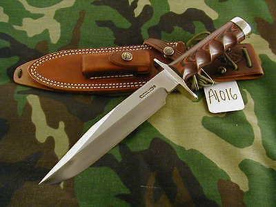 """RANDALL KNIFE KNIVES #14-7 1/2""""CDT,SS,NSDH,ALL-BL.S,RED/BLUE MIC.,FG,NSBR #A1016"""
