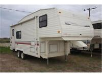 Reduced!!! 1993 Terry Resort 25P Fifth Wheel