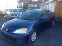 2003 Honda Civic Coupé DX ****** FINANCEMENT MAISON ******