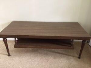 Cool retro coffee table
