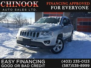 2012 Jeep Compass Sport 4x4 w/Remote Start,Cruise Control,Aux,CD