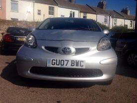Toyota Aygo 1.0 VVT-i + 5dr£2,595 NEW CLUTCH,one owner