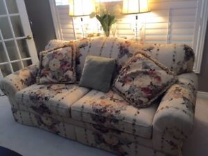 Immaculate couch and love seat