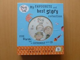 Charlie and Lola Favourite Story Collection and CD