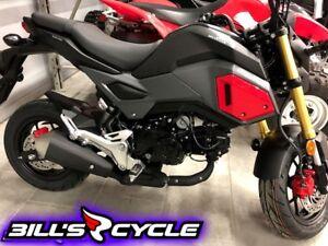 2018 HONDA On Road MSX 125 J   Grom  coolest bike on earth.. Sil