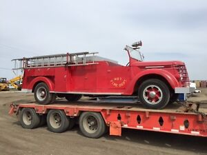 1937 INTERNATIONAL D-50-450 FIRE TRUCK