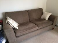 Marks and Spencer Urbino Sofa & Chair in Mocha Chenille