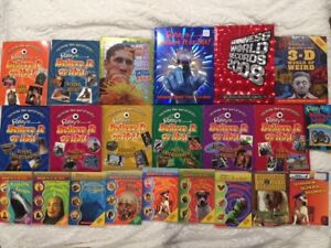RIPLEYS BELIEVE IT OR NOT BOOK COLLECTION
