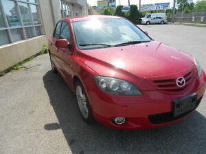 2006 Mazda Mazda3 GT-Sport; CERTIFIED & ETESTED,Manual
