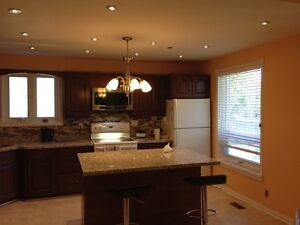 Beautiful fully renovated Bungalow Main Floor for Rent.
