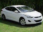 2013 Hyundai Elantra MD3 Active White 6 Speed Sports Automatic Sedan Reynella Morphett Vale Area Preview