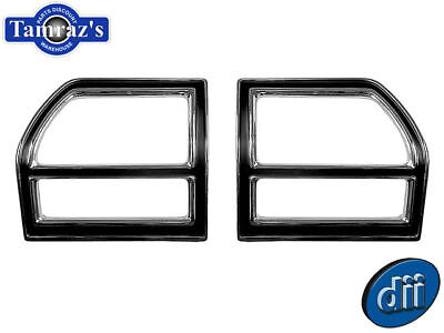 Tail Lamp Light Bezel 69 Chevelle pair WITH SEALS 1969