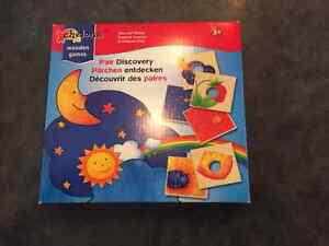 Wooden Pair Discovery Game