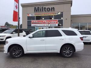 2017 Dodge Durango GT AWD|LEATHER|NAVIGATION|SUNROOF|DVD