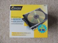 Fellowes CD coloured jewel cases x 15