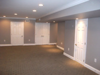 Painting, Priming, Refacing, Walls / Trim / 2 Tone