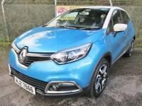 Renault Captur 1.5 Dynamique S MediaNav DCi Turbo Diesel Auto (tahoe blue/ivory roof) 2014