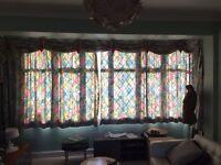 Designer Baudelaire Super Floral Vintage Curtains