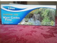 Lotus Pond Pump