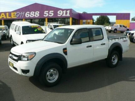 2009 Ford Ranger PK XL (4x4) White 5 Speed Manual Dual Cab Pick-up Dubbo 2830 Dubbo Area Preview