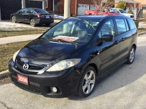 2006 Mazda Mazda5 GT (Accident Free, Low Kms, One Owner)