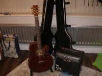 TANGLEWOOD TW47E acoustic guitar