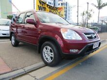 2002 Honda CR-V MY02 (4x4) Red 4 Speed Automatic Wagon Southport Gold Coast City Preview