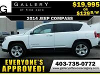 2014 Jeep Compass North 4x4 $129 bi-weekly APPLY NOW DRIVE NOW