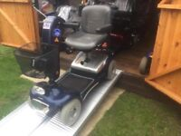 Any Terrain Sterling Sapphire 22 St Capacity Mobility Scooter Heavy Duty Fast Road Legal! Only £450