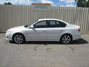 2007 Subaru Liberty MY07 2.0R White 4 Speed Auto Elec Sportshift Sedan
